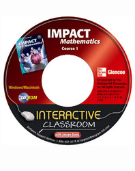 IMPACT Mathematics, Course 1, Interactive Classroom CD-ROM