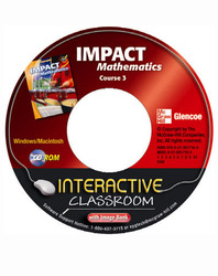 IMPACT Mathematics, Course 3, Interactive Classroom CD-ROM