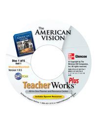 The American Vision, TeacherWorks Plus CD-ROM