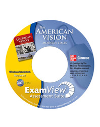 The American Vision: Modern Times, ExamView Assessment Suite CD-ROM