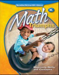 Math Triumphs, Kindergarten, Classroom Intervention Kit