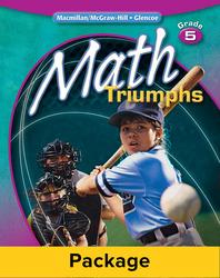 Math Triumphs, Grade 5, Classroom Intervention Kit