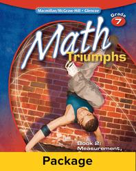 Math Triumphs, Grade 7, Classroom Intervention Kit