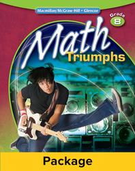 Math Triumphs, Grade 8, Classroom Intervention Kit