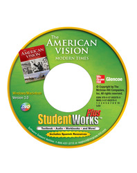The American Vision: Modern Times, StudentWorks Plus DVD