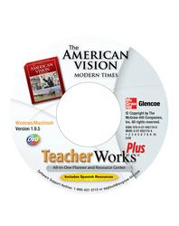 The American Vision: Modern Times, TeacherWorks Plus DVD