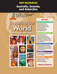 Exploring Our World, Unit Resources Australia, Oceania, and Antarctica