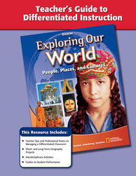 Exploring Our World, Teacher Guide to Differentiated Instruction
