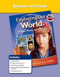 Exploring Our World, Quizzes and Tests
