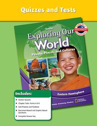 Exploring Our World: Eastern Hemisphere, Quizzes and Tests