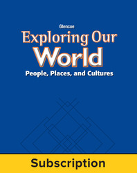Exploring Our World, StudentWorks Plus Online, 1-Year Subscription