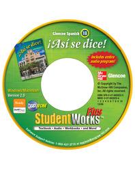 ¡Así se dice! Level 1B, StudentWorks CD-ROM