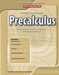 Precalculus Study Notebook TAE