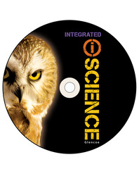 Glencoe Integrated iScience, Course 3, Grade 8, eTeacherEdition DVD