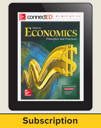 Economics: Principles and Practices, Online Student Edition, 1-Year Subscription