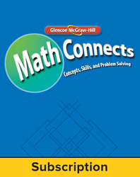 Math Connects Course 2 StudentWorks Plus online 6 year subscription