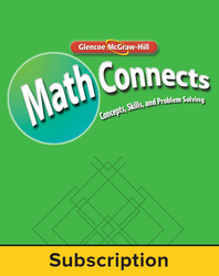 Math Connects, Course 3, StudentWorks Plus Online, 6-year subscription