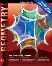 Geometry Teacher Edition  CCSS