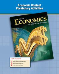 Economics: Principles and Practices, Economic Content Vocabulary Activities