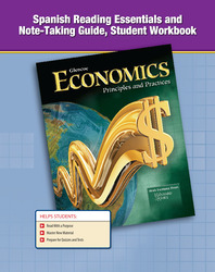 Economics: Principles and Practices, Spanish Reading Essentials and Note-Taking Guide, Student Workbook