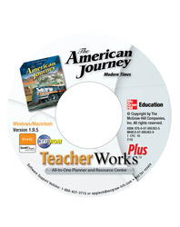 The American Journey: Modern Times, TeacherWorks Plus CD-ROM