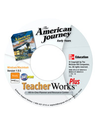 The American Journey: Early Years, TeacherWorks Plus CD-ROM