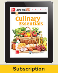 Culinary Essentials, StudentWorks Plus Online, 1-year subscription