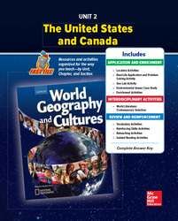 World Geography and Cultures, Unit 2 Resources Book