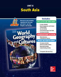 World Geography and Cultures, Unit 8 Resources Book