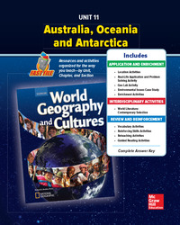 World Geography and Cultures, Unit 11 Resources Book
