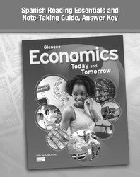 Economics: Today and Tomorrow, Spanish Reading Essentials and Note-Taking Guide, Answer Key