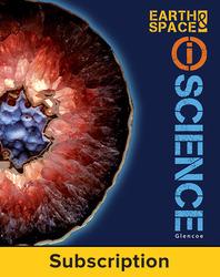 Glencoe Earth & Space iScience, Grade 6, eTeacher Edition, 6-year subscription