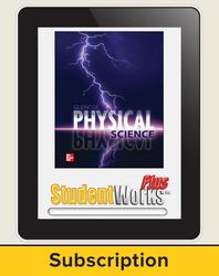 Glencoe Physical iScience, Grade 8, eStudent Edition, 1-year subscription