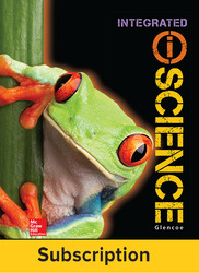 Glencoe iScience, Integrated Course 1, Grade 6, eStudent Edition, 1-year subscription