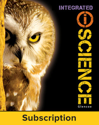 Integrated iScience, Course 3, Grade 8, eStudent Edition, 1-year subscription