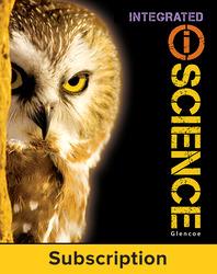 Glencoe iScience, Integrated Course 3, Grade 8, eTeacher Edition, 6-year subscription