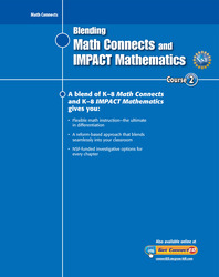 Blending Math Connects  and IMPACT Mathematics, Course 2