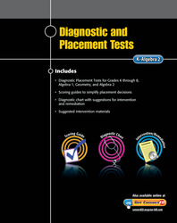 Diagnostic and Placement Tests