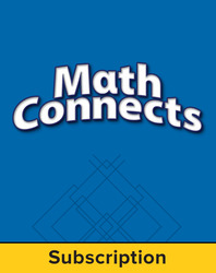 Math Connects, Course 2, eStudentEdition Online, 6-year subscription