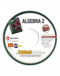 Algebra 2, eStudentEdition CD
