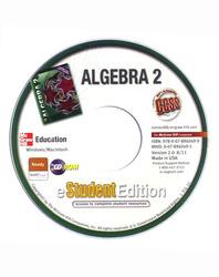 Algebra 2, eStudentEdition CD