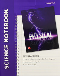 Physical Science with Earth Science, Science Notebook, Student Edition