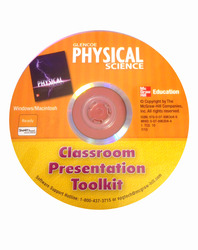 Physical Science with Earth Science, Classroom Presentation Toolkit CD-ROM
