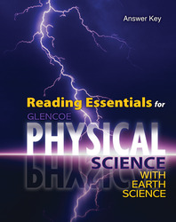 Physical Science with Earth Science, Reading Essentials Answer Key