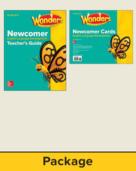 Wonders for English Learners Grades K-2, Newcomer Package