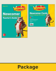 Wonders for English Learners Grades 3-6, Newcomer Package