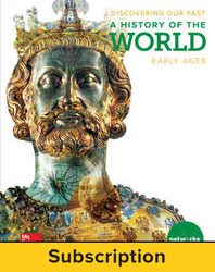 Discovering Our Past: A History of the World-Early Ages, Student Learning Center, 7-year subscription