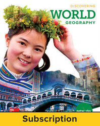 Discovering World Geography, Student Learning Center, 7-year subscription