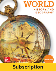 World History and Geography, Student Learning Center, 7-year subscription