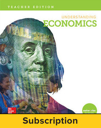 Understanding Economics, Teacher Lesson Center, 7-year subscription